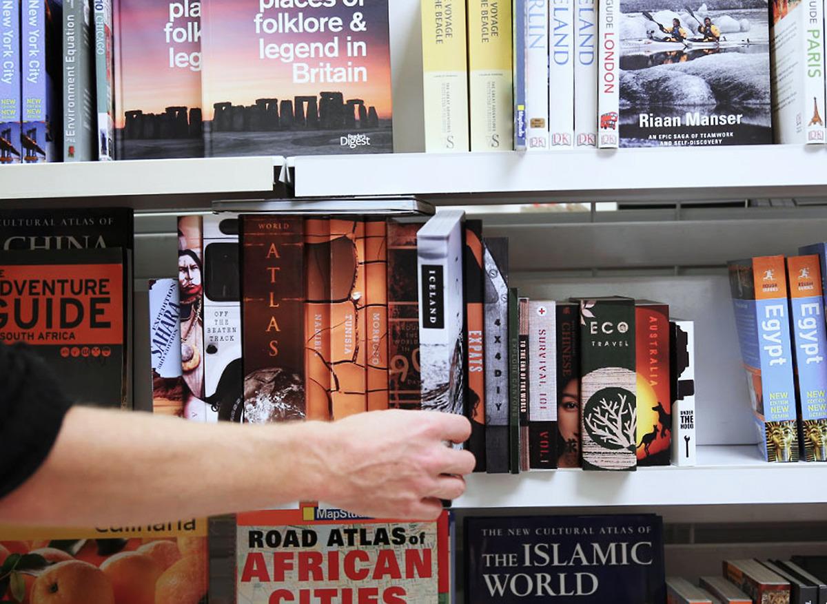 Land Rover Bookshelf On Behance
