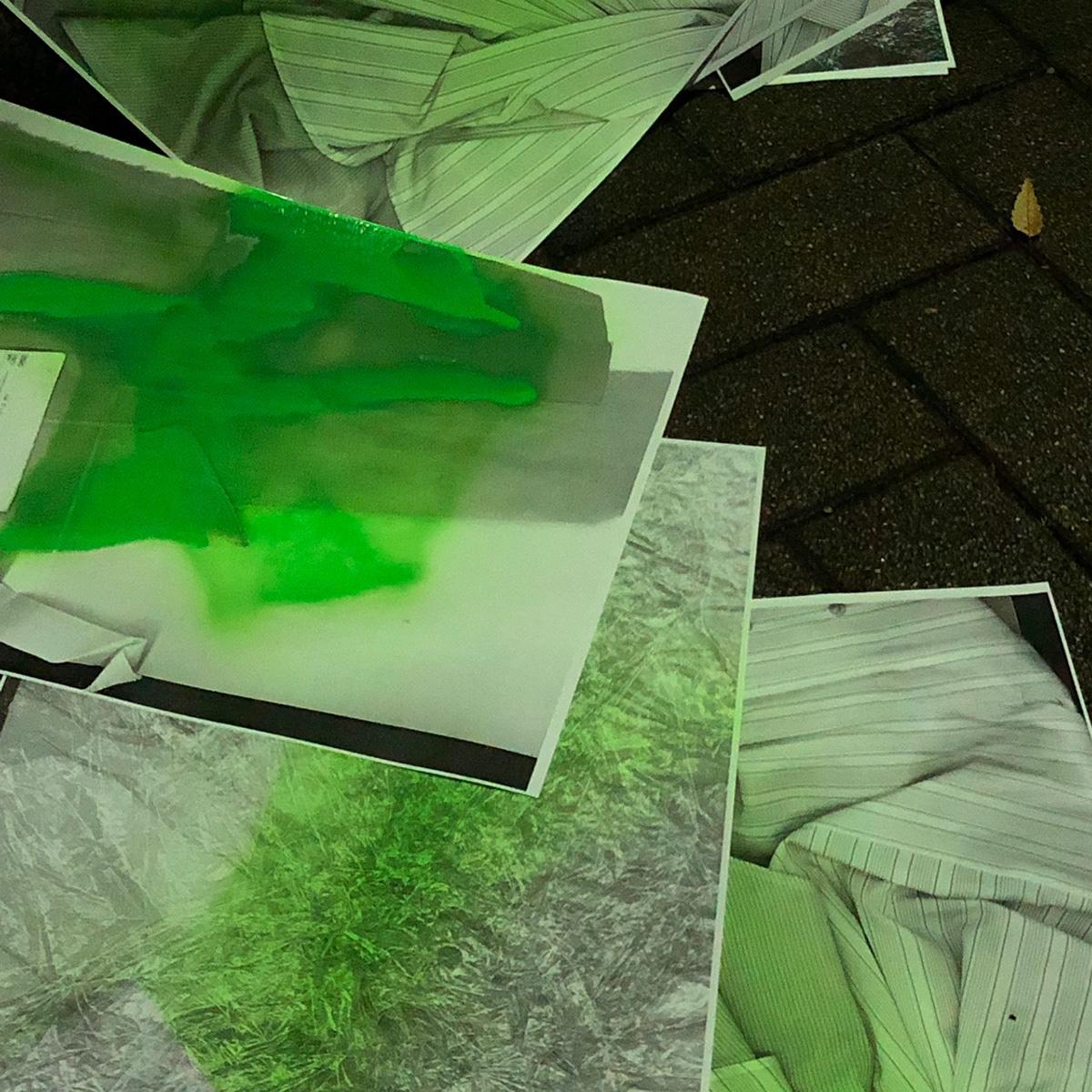 Image may contain: green, art and screenshot