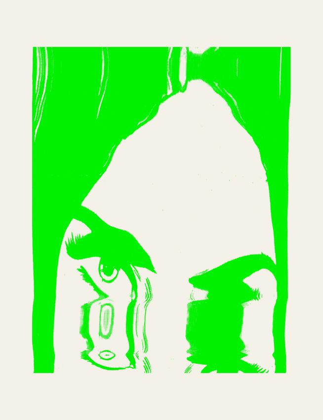 atelier octobre richard b sérigraphie silkscreen collage microedition DIY