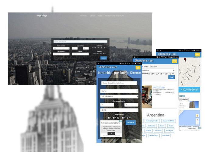 geolocation home Rent ux Web Design
