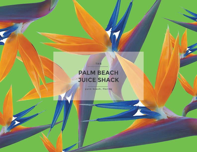The Palm Beach Juice Shack On Behance
