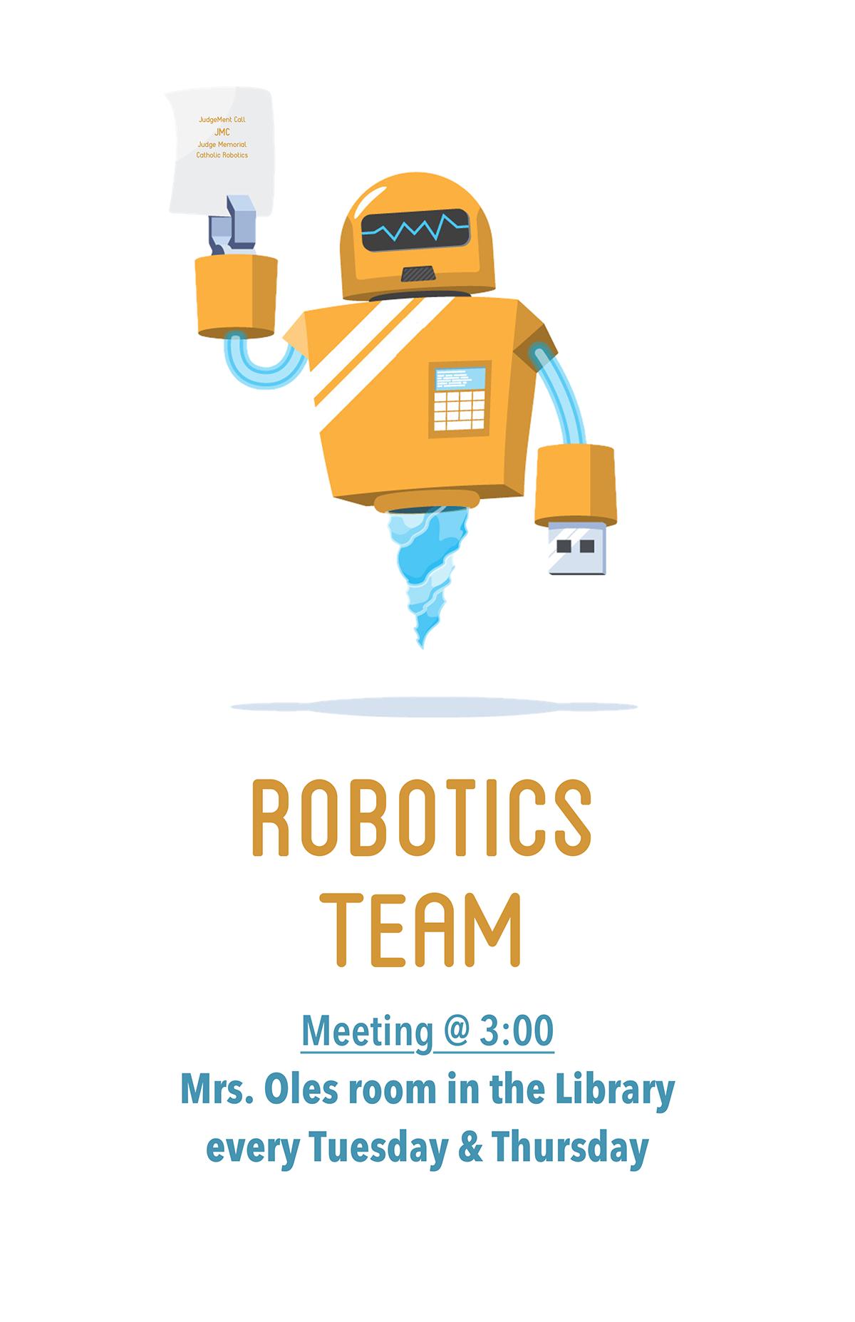 Robotics Poster On Behance