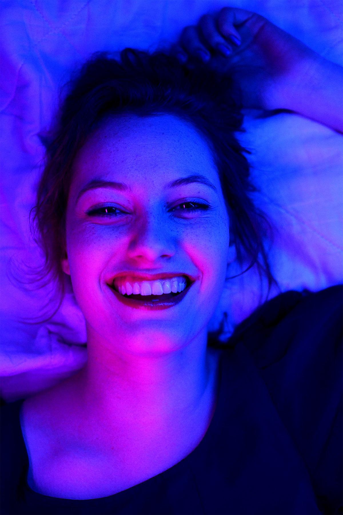 Neon Light Portrait On Behance: Neon Lights On Behance