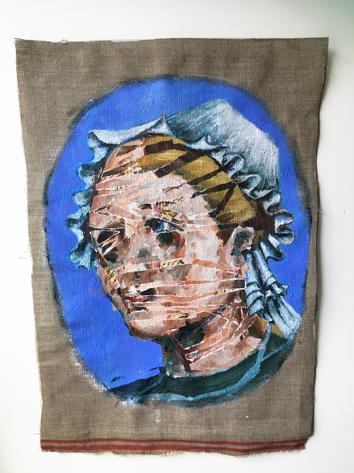 figurative painting acrylic medical history figurative