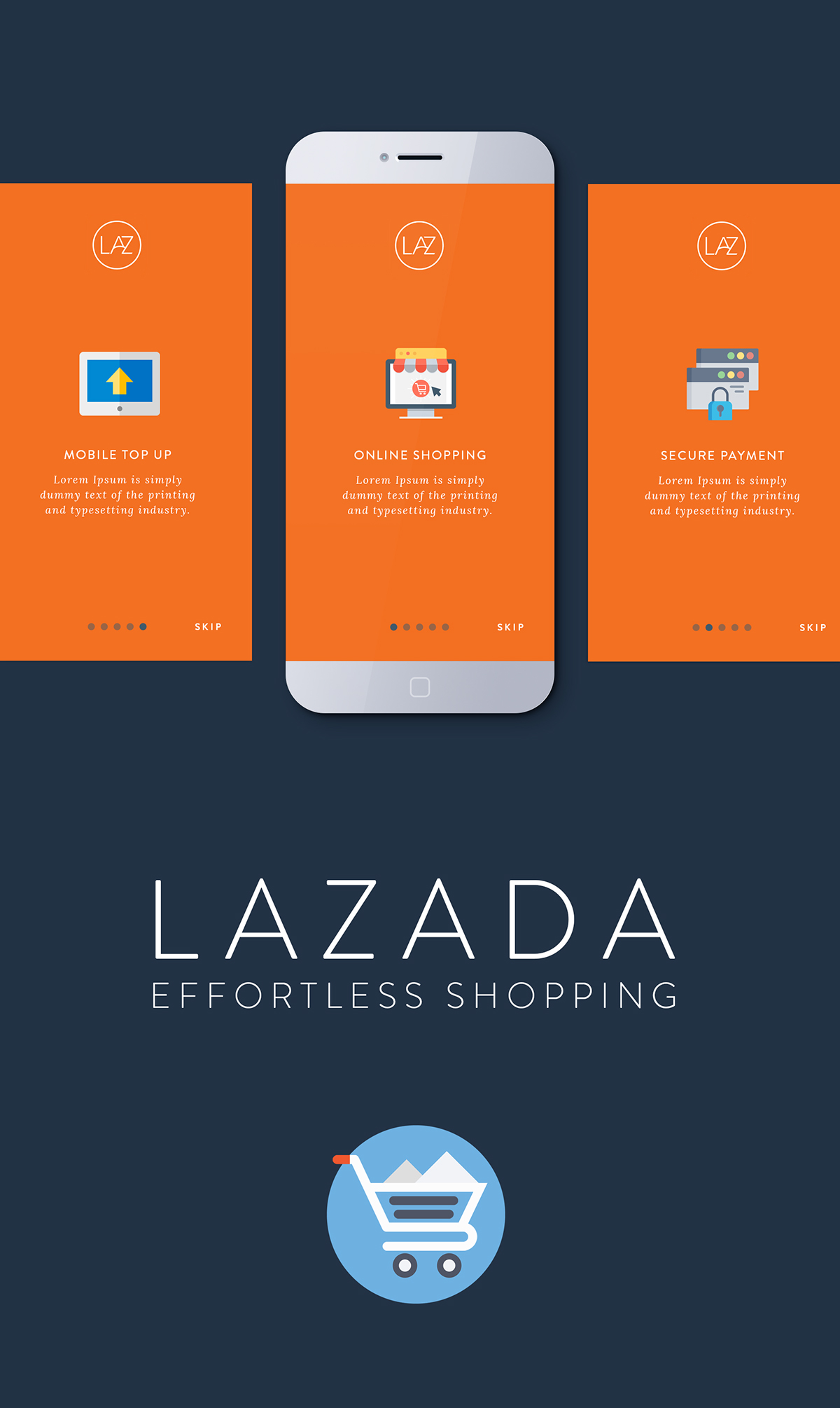 Lazada App Redesign - Unofficial on Behance