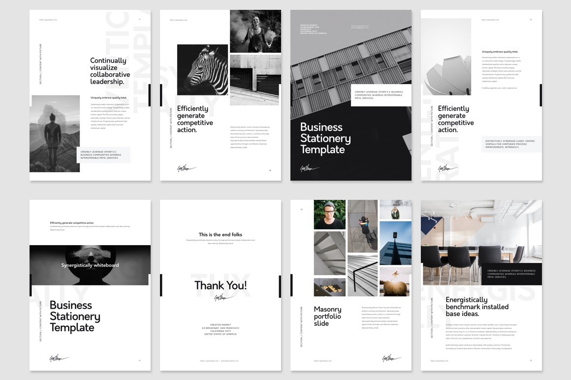 keynote vertical presentation template on behance, Keynote Presentation Template, Powerpoint templates