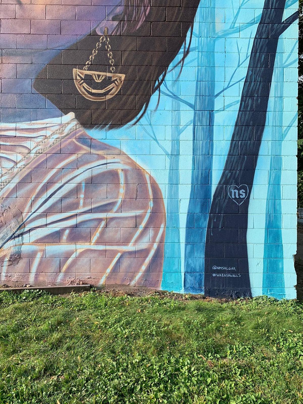 design interiordesign Mural Murals painter painting   smallBusiness streetart wallart Womanownedbusiness