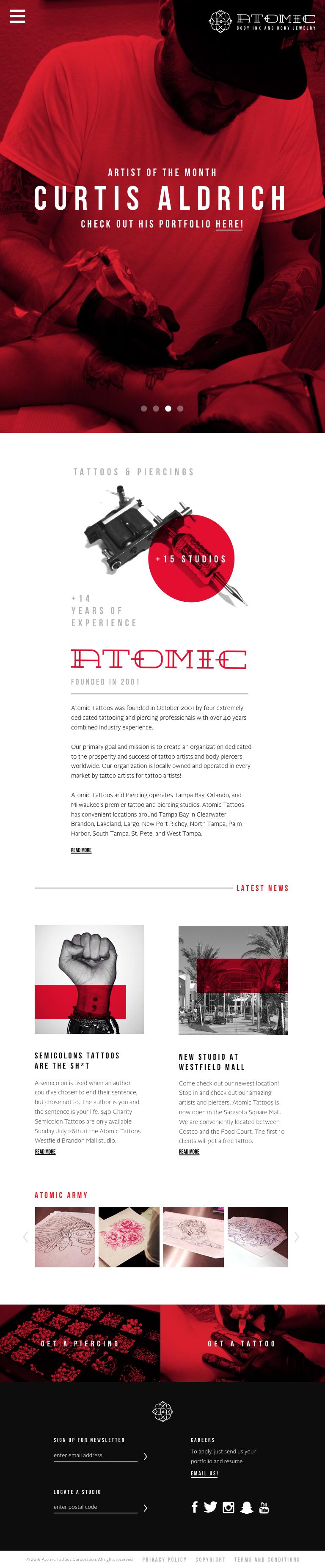 Atomic Tattoos on Behance