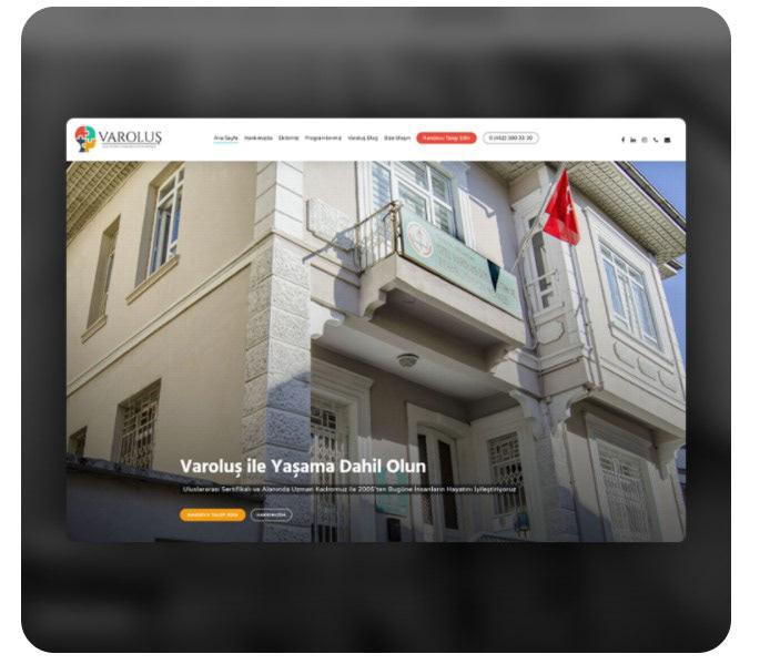rehabilitation web site Website wordpress