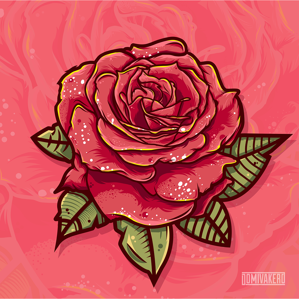 Rose Vector Collection On Behance