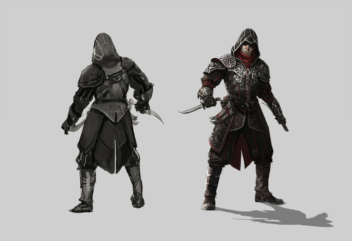 Character Design For Assassin S Creed Identity On Behance