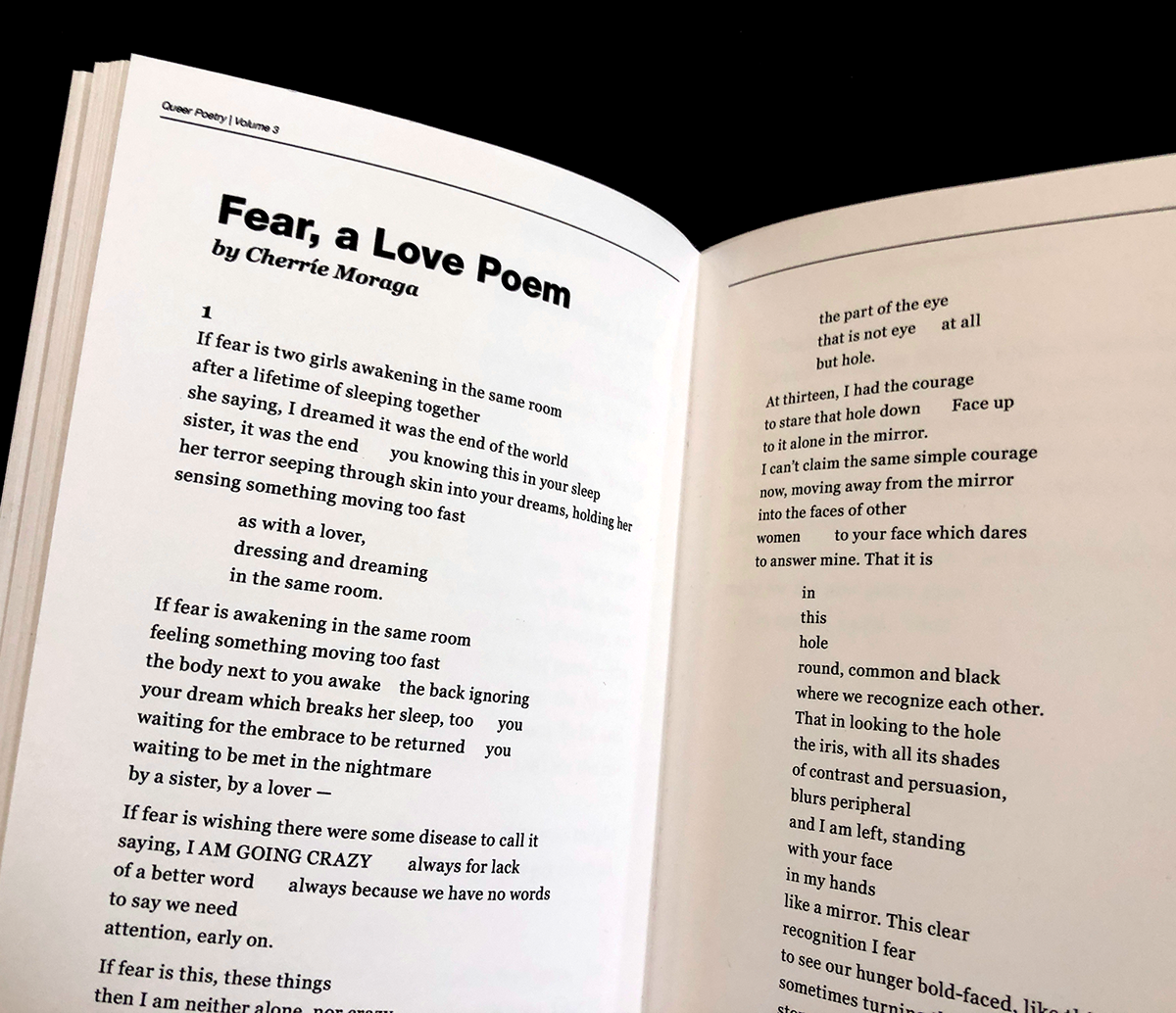 crazy courage poem