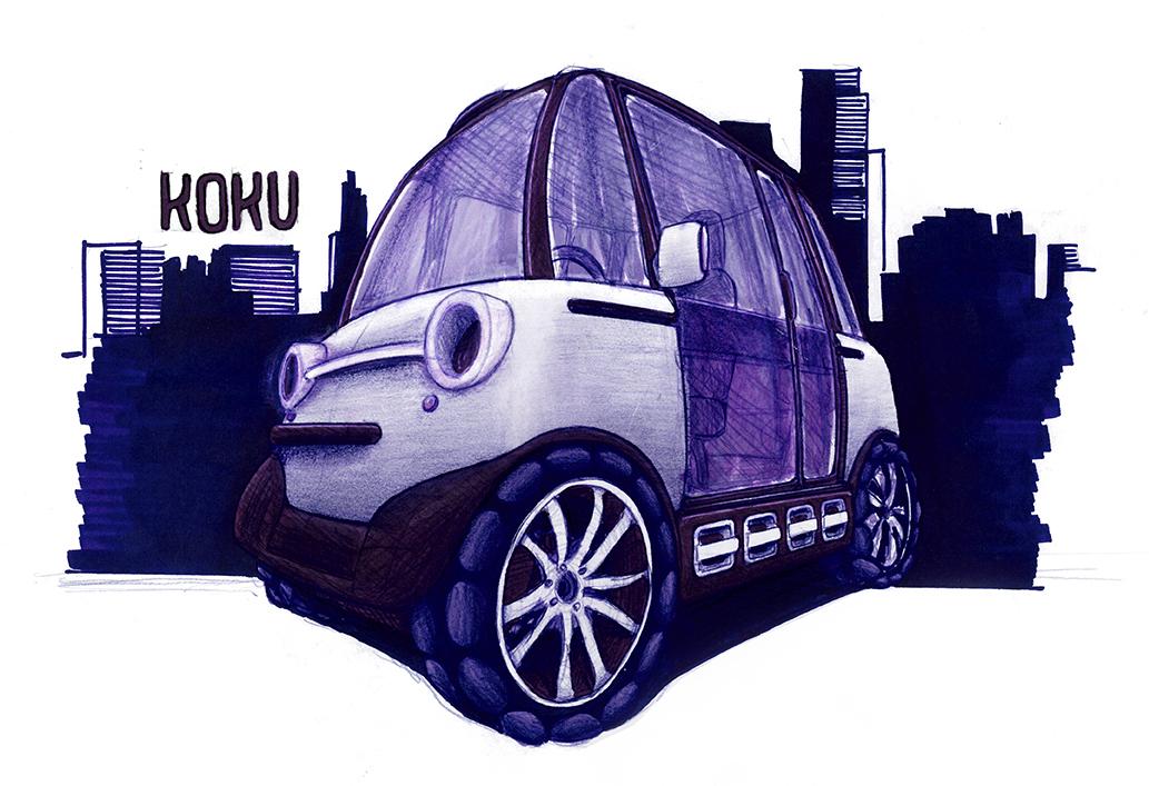 koku eulive contest mobility compact car transportation Urban