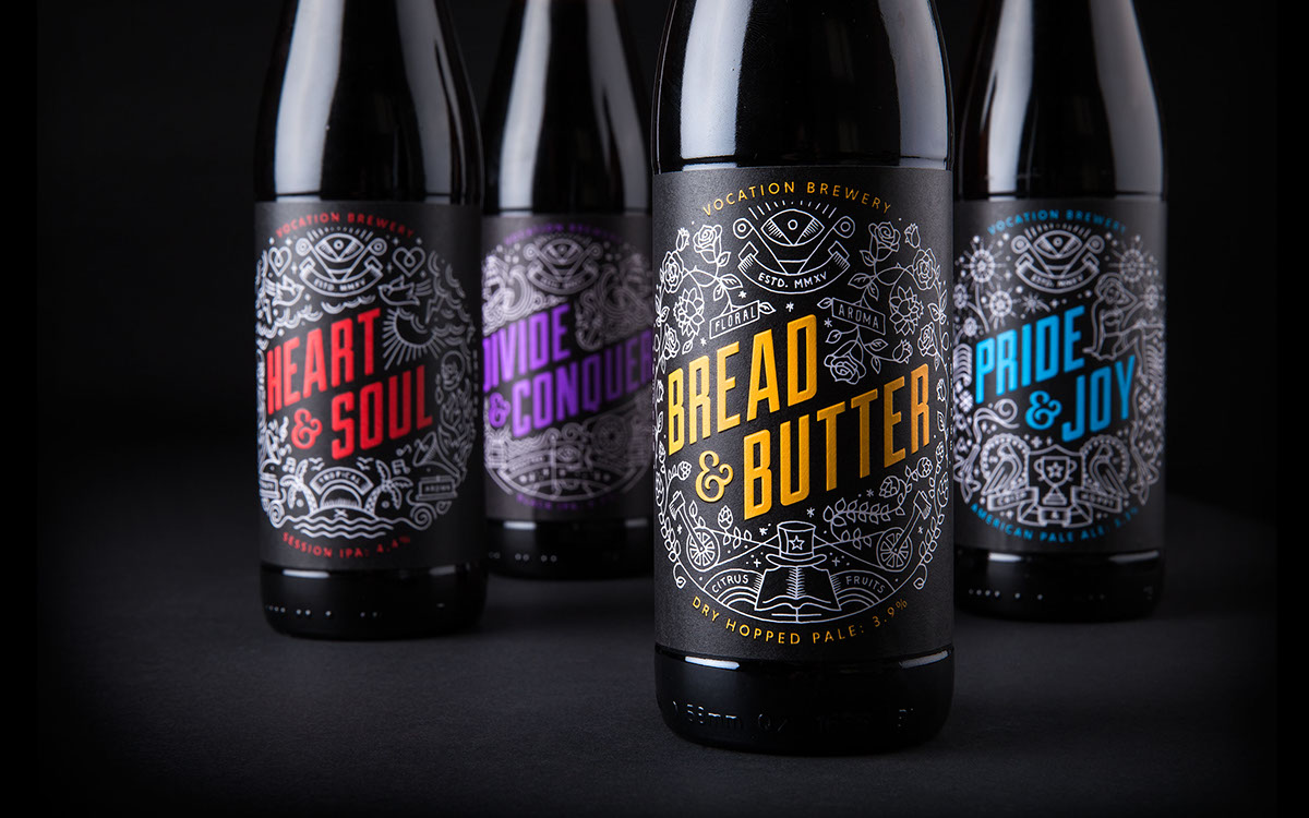 Vocation Brewery Design by Robot Food