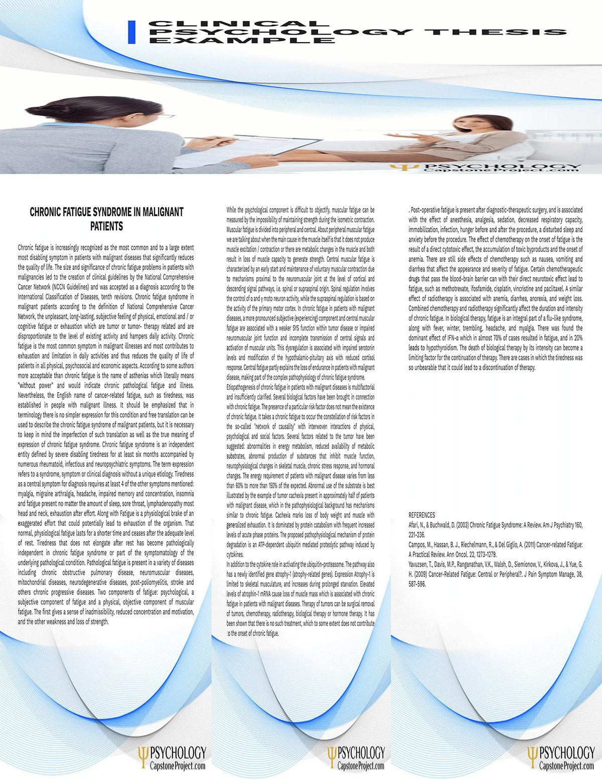 psychology capstone project ideas
