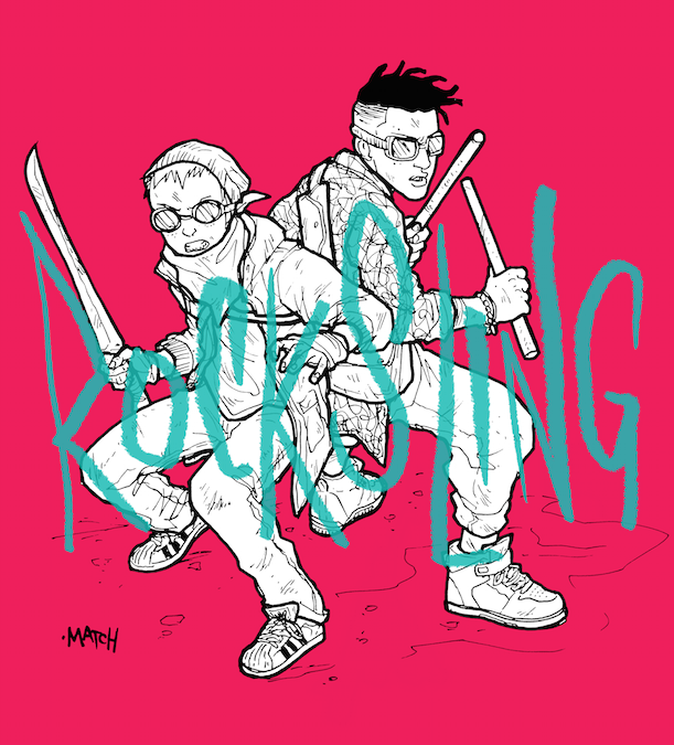 comics hq quadrinhos quadrinho nacional rocksling yohke Guilherme Match