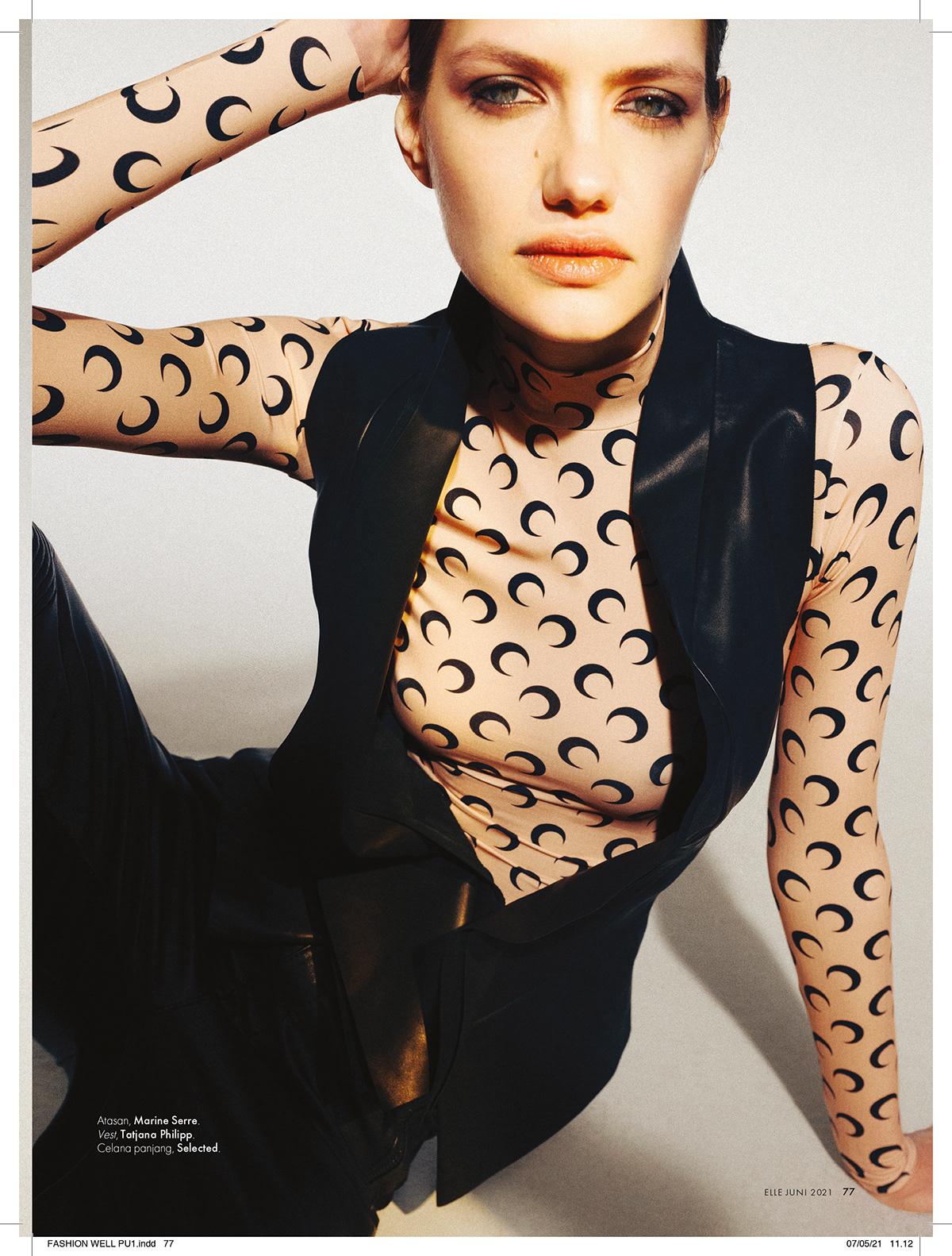 Elle Fashion  photographer retouch Style