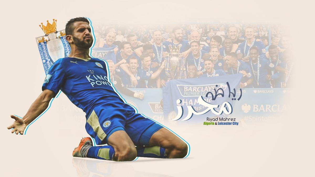 Riyad Mahrez On Behance