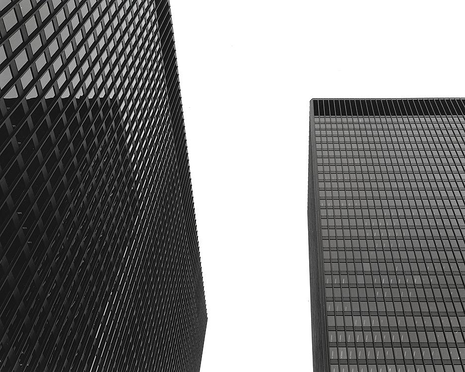 Chicago Federal Center, Mies van der Rohe, 2014
