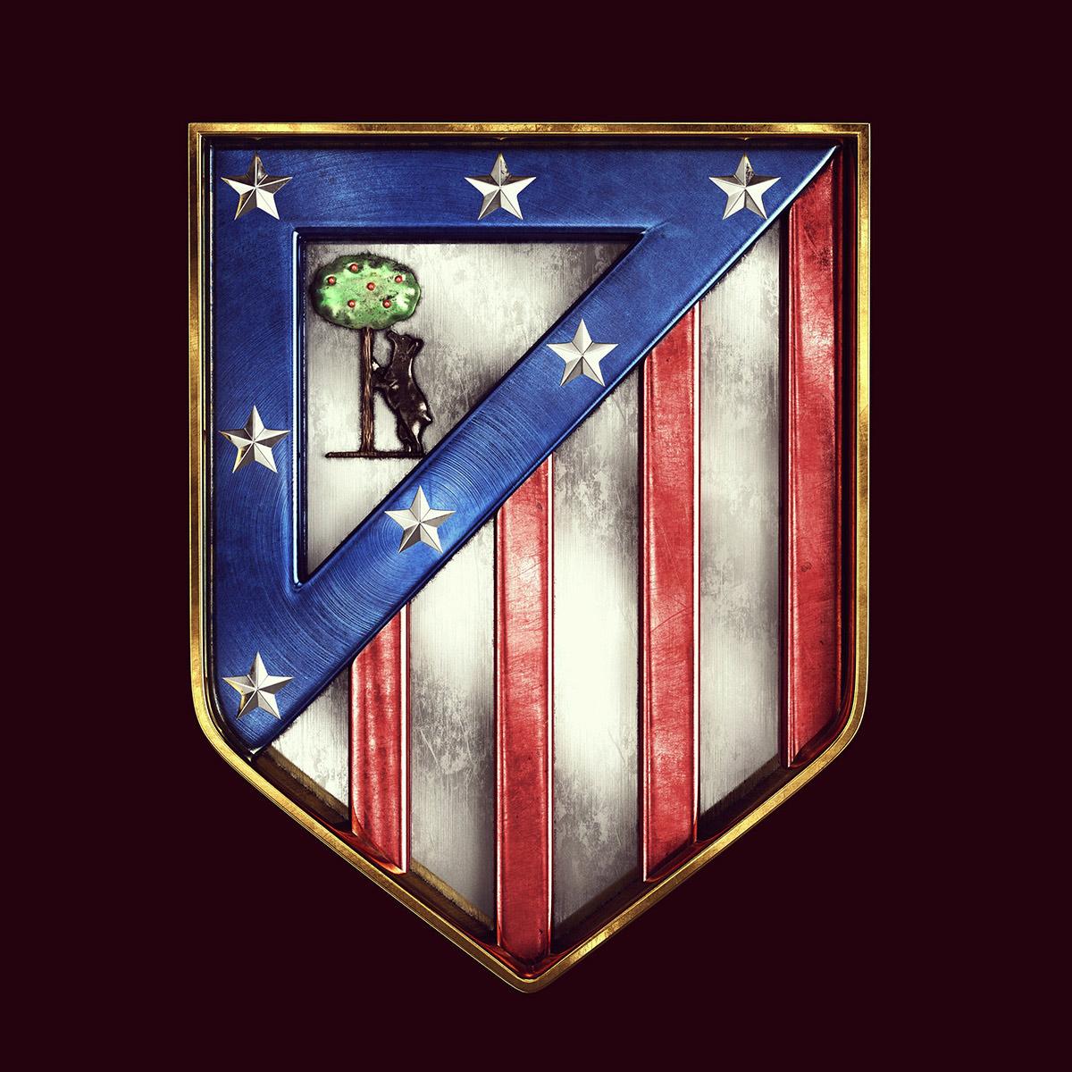 Talisman & Co.   Atlético Madrid Badge   Andrei Lacatusu