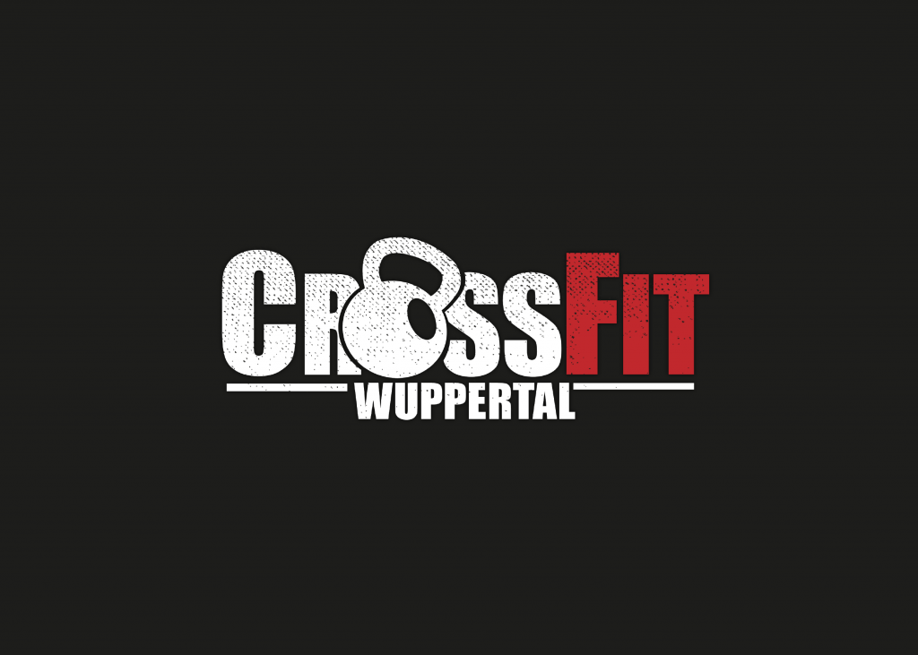 logo Crossfit fitness box training design