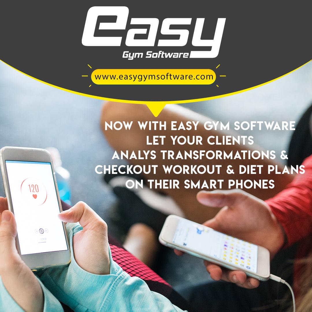 easy gym software social media banner