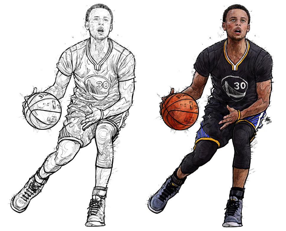 golden state warriors coloring page. linning coloring basketball ...