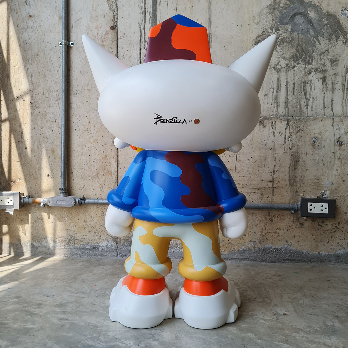 arttoy Character designertoy popart sculpture streetart