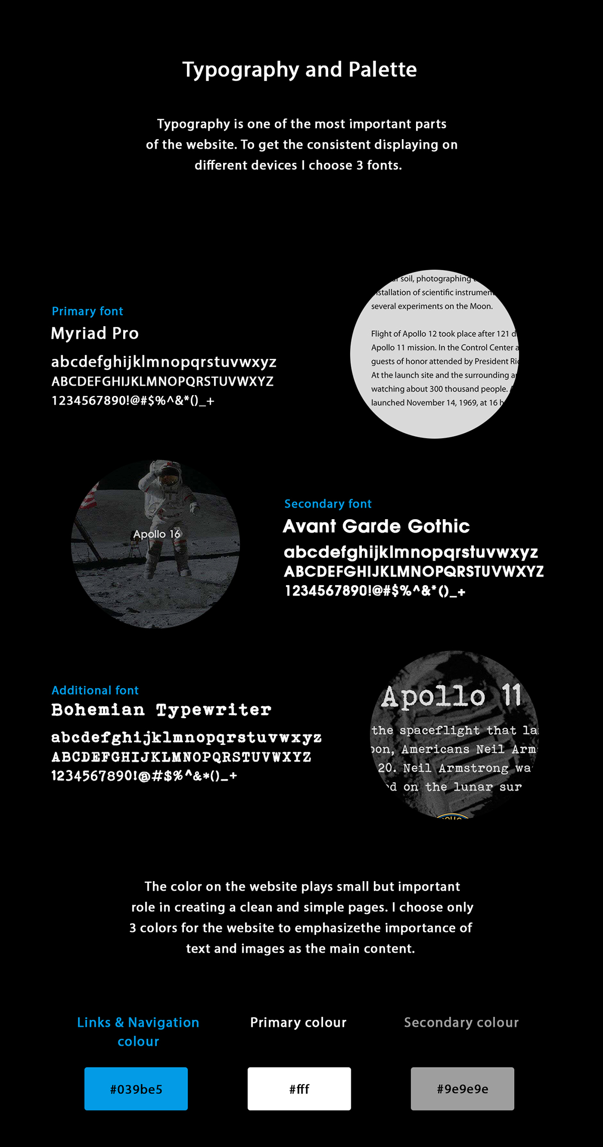 Project Apollo - Website on Behance