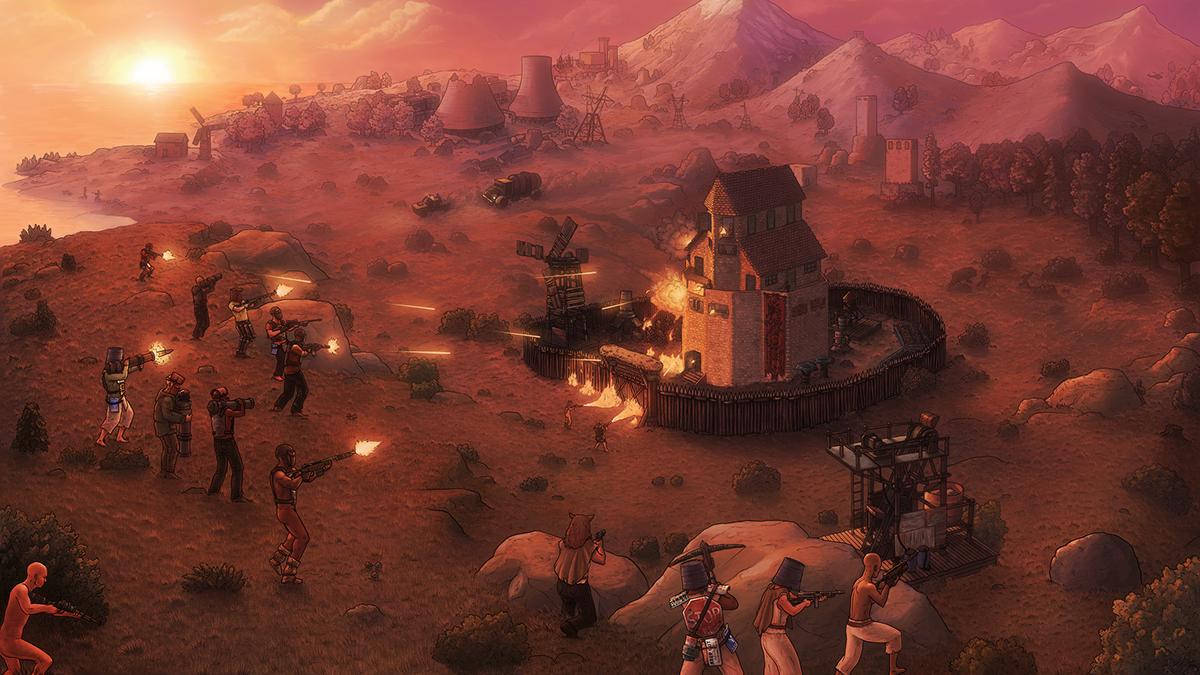 Savage world of Rust on Behance