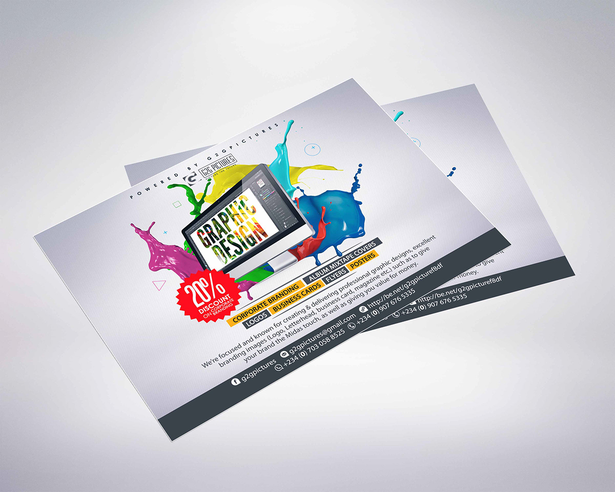 promotional flyer design on pantone canvas gallery