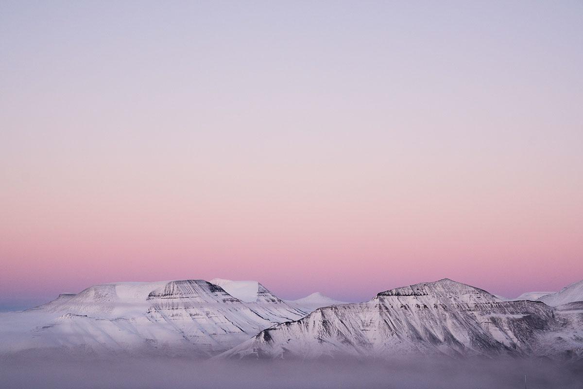 nasa noaa satellite Svalbard Arctic Landscape itsreuben Northern Lights