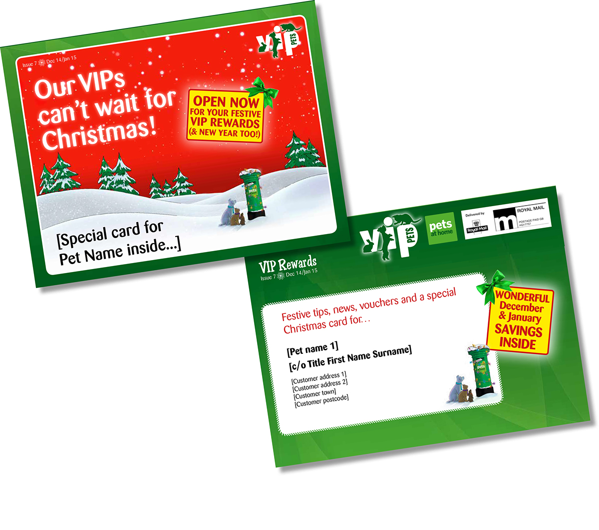 pets at home christmas campaign on behance - Christmas Pet Names