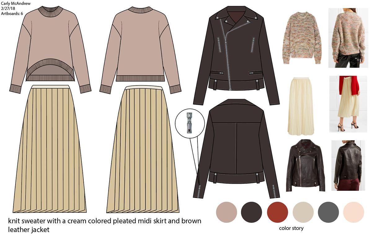 Cad For Fashion Design Midterm On Philau Portfolios