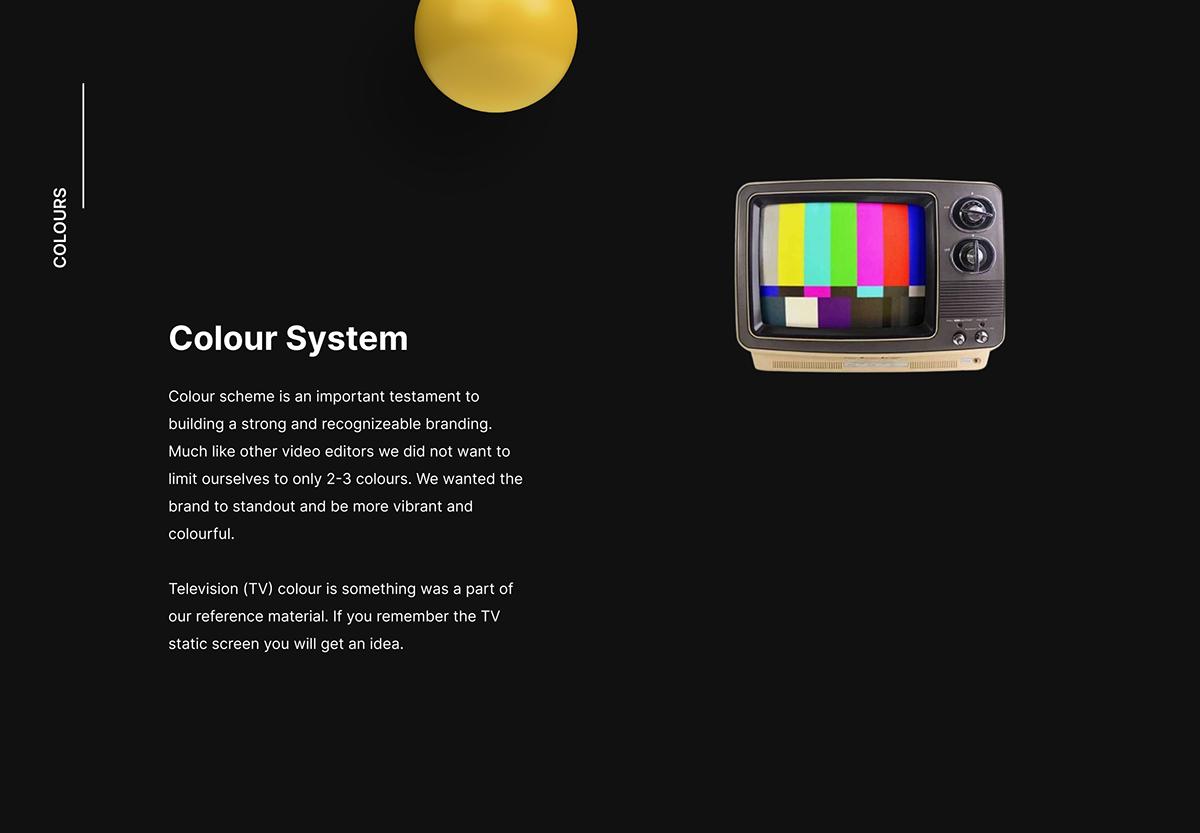 InVideo Colour Scheme