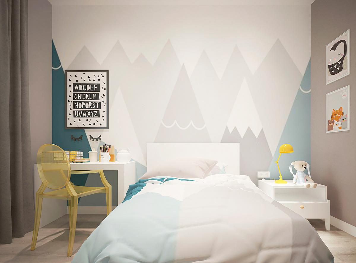 архитектура дизайн студия дизайнерское решение дизайн интерьера стиль детская комната минимализм светлое пространство