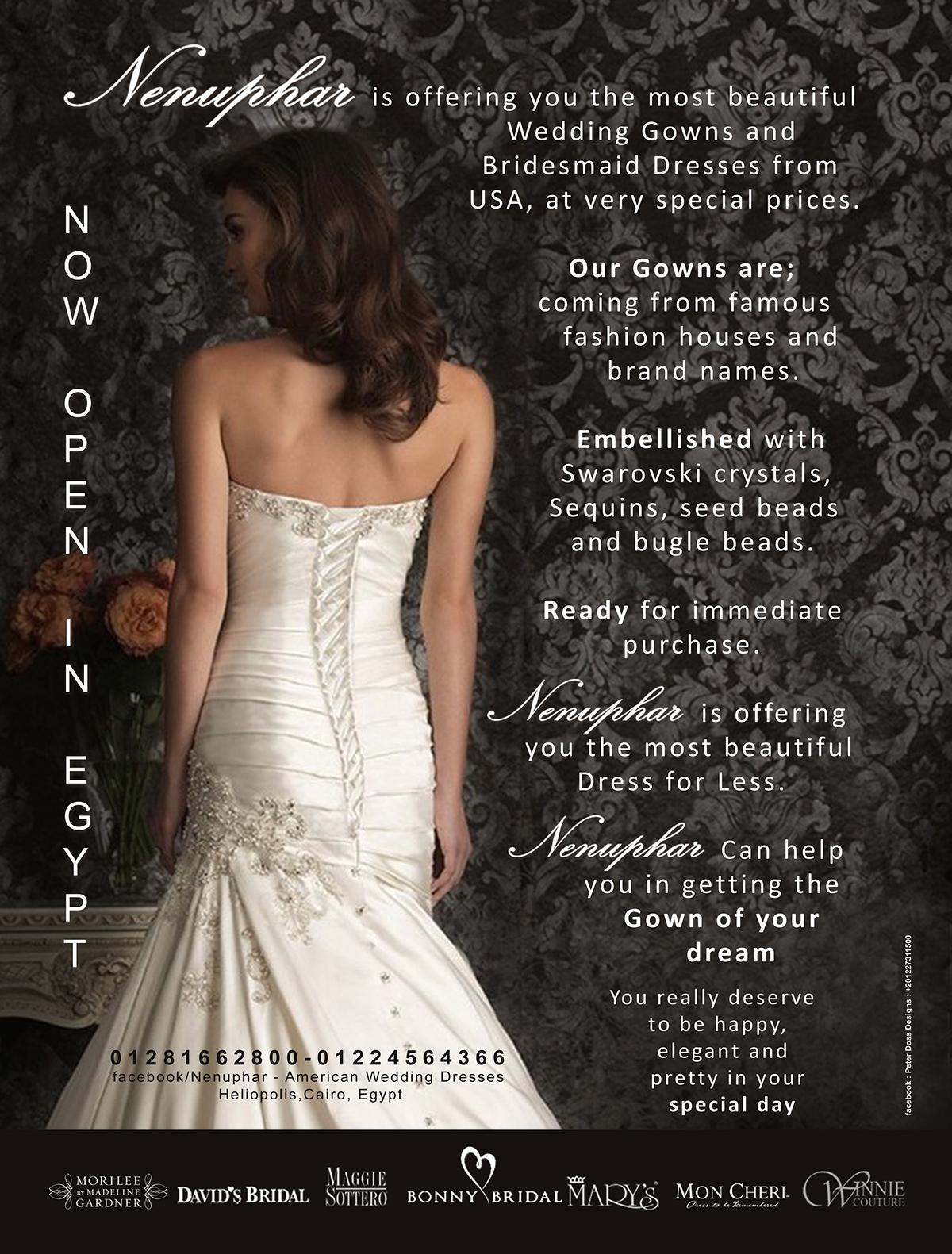 Nenuphar American Wedding Dresses on Wacom Gallery