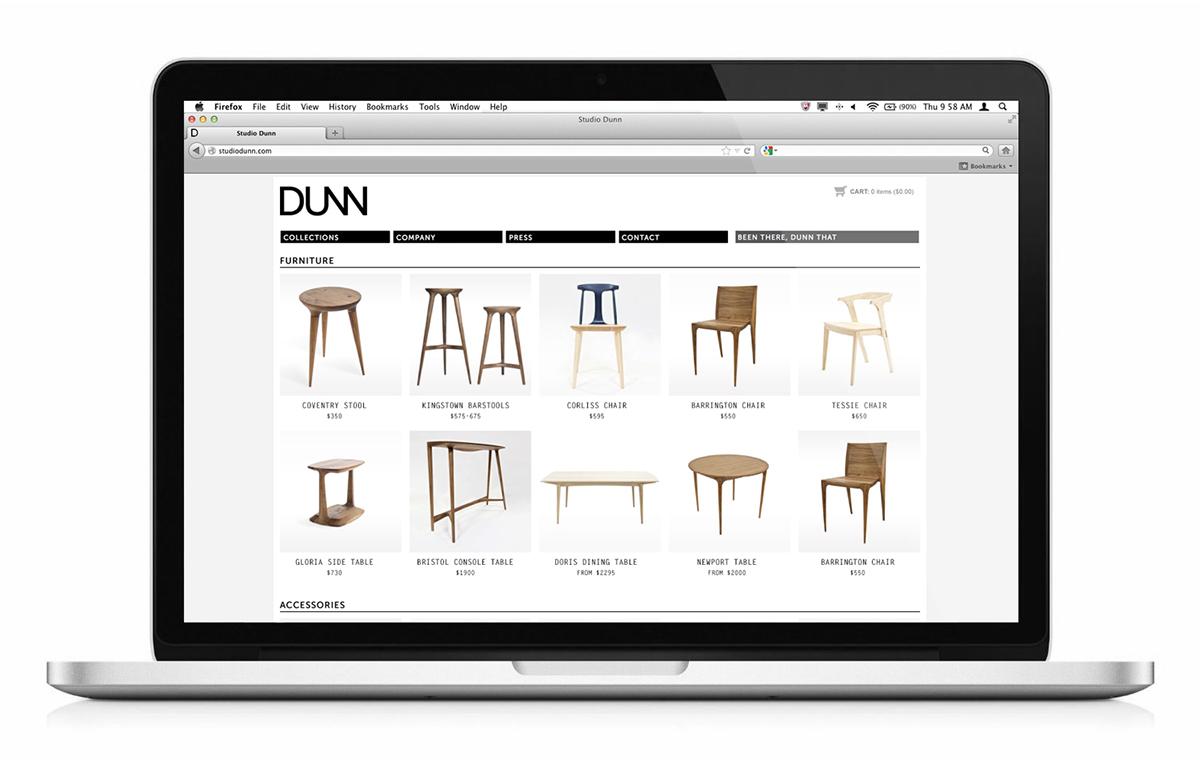 print Web furniture risd dunn asher dunn identity