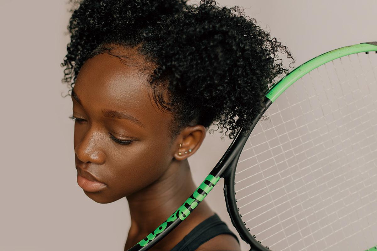 editorial editorial photoshoot Female Model model photoshoot Studio Photography tennis