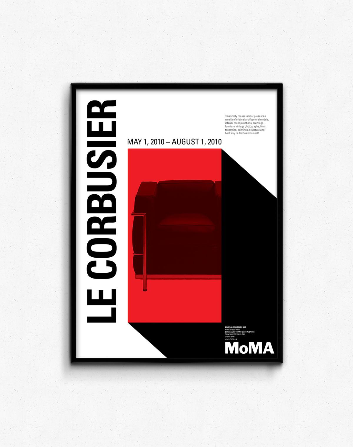 Le Corbusier at MoMA on RISD Portfolios