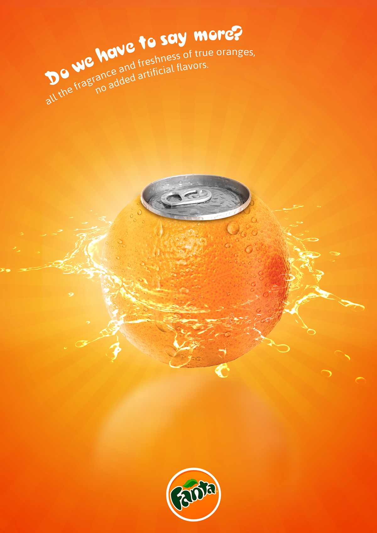 Fanta Print Ads On Pantone Canvas Gallery