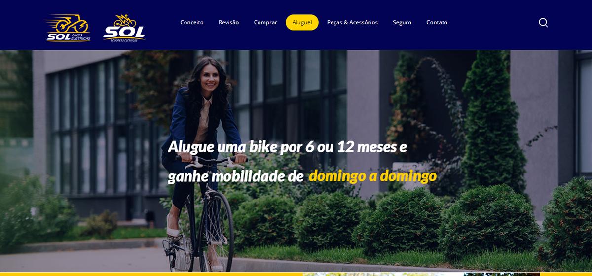 Website Sol Bikes