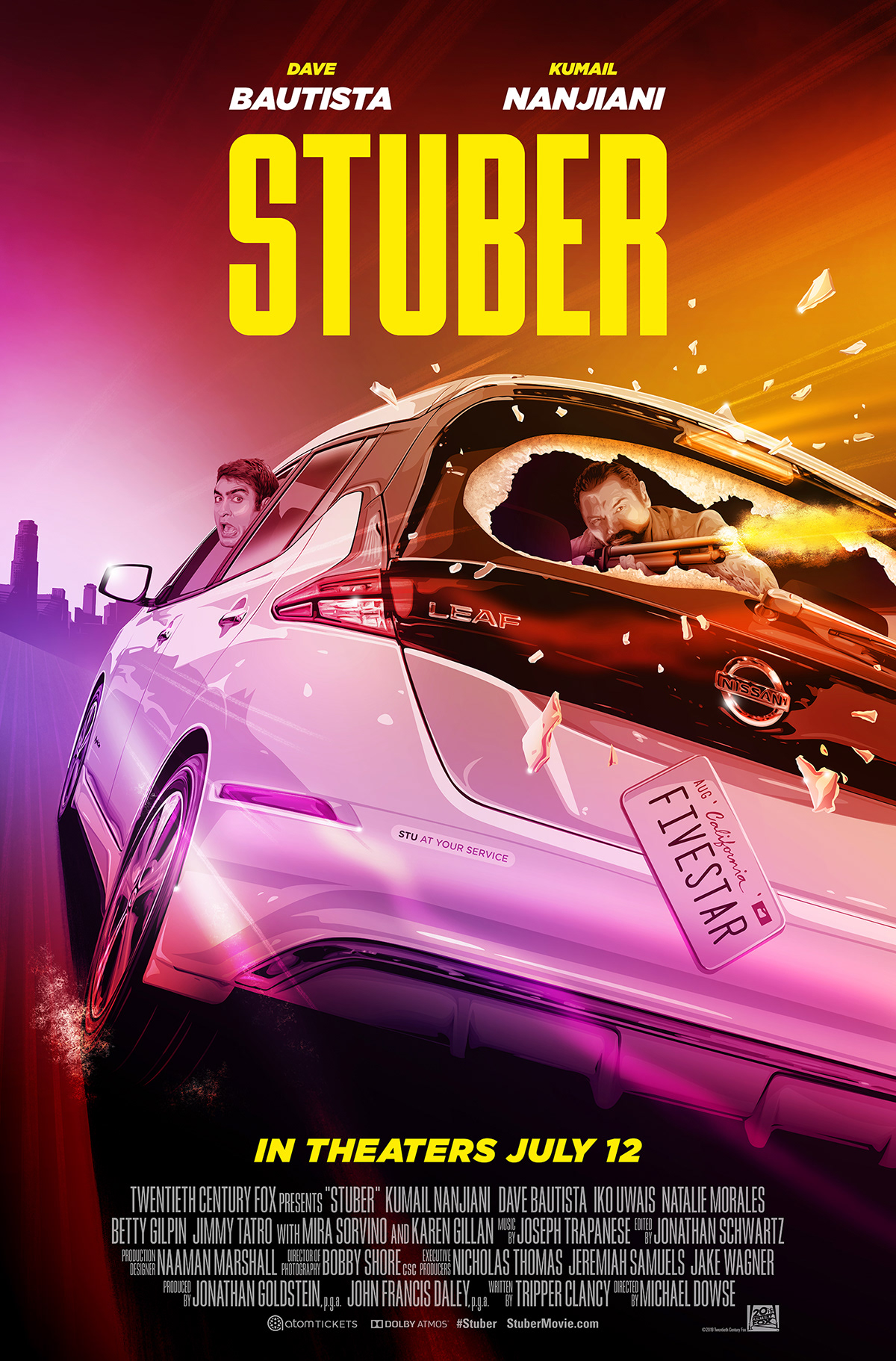 Multiple Sizes Stuber Movie Poster