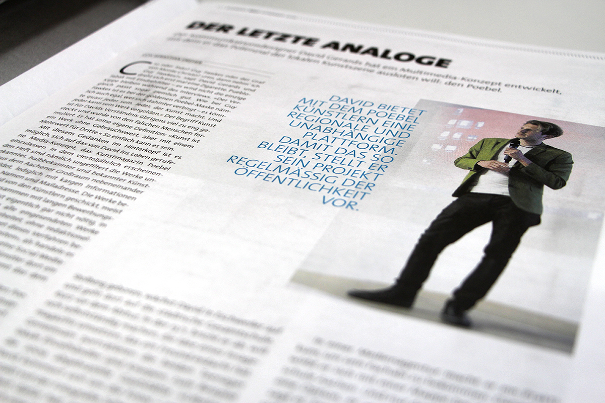 editorial design ,Aachen,youth