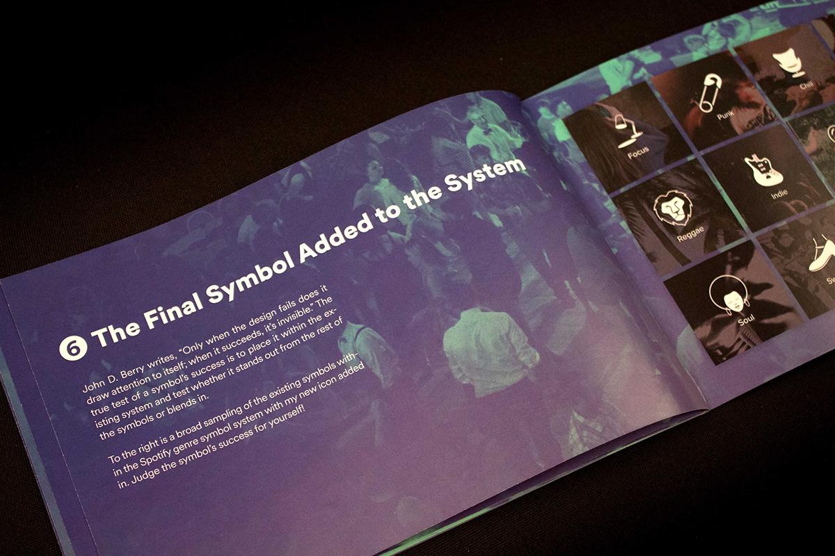 Spotify Genre Symbol System Process Book on Behance