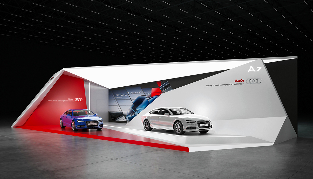 Exhibition Stand Behance : Kaldewei exhibition stand on behance exhibition fair