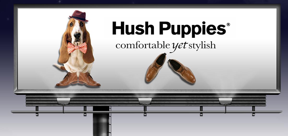 Hush Puppies - Billboard/Banner/Website