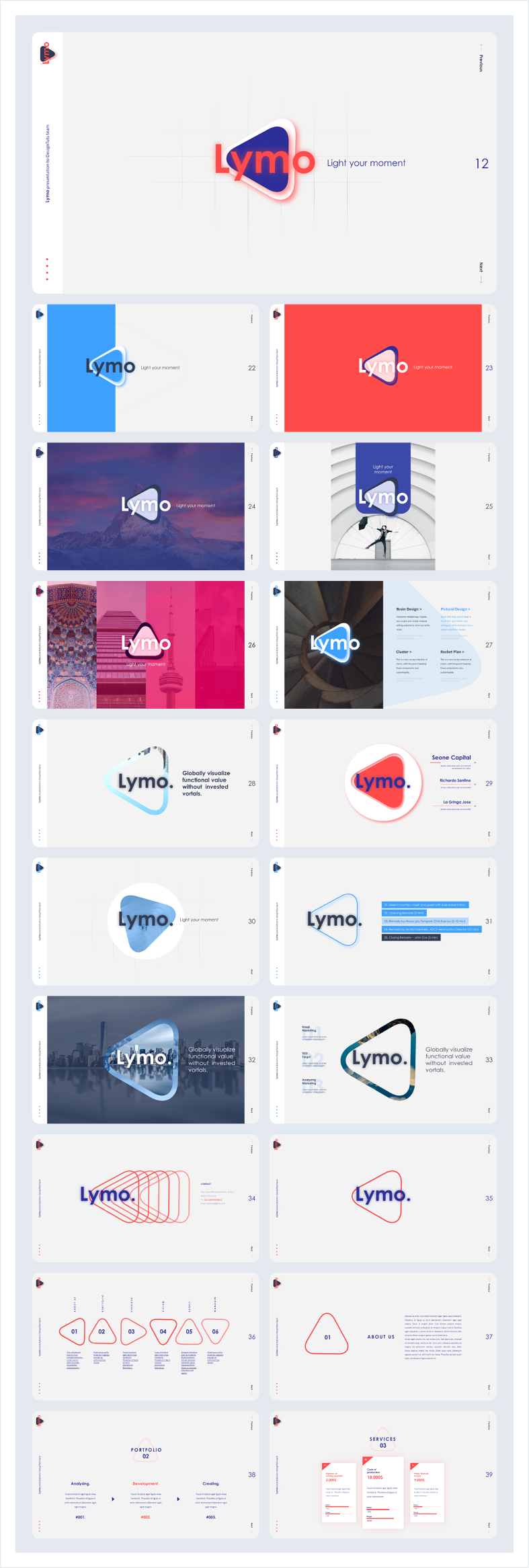 Lymo Powerpoint Presentation Template - 13