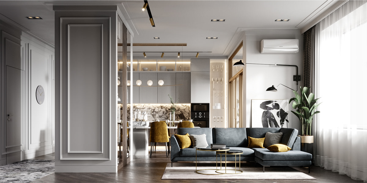Modern Flat In Moscow On Behance