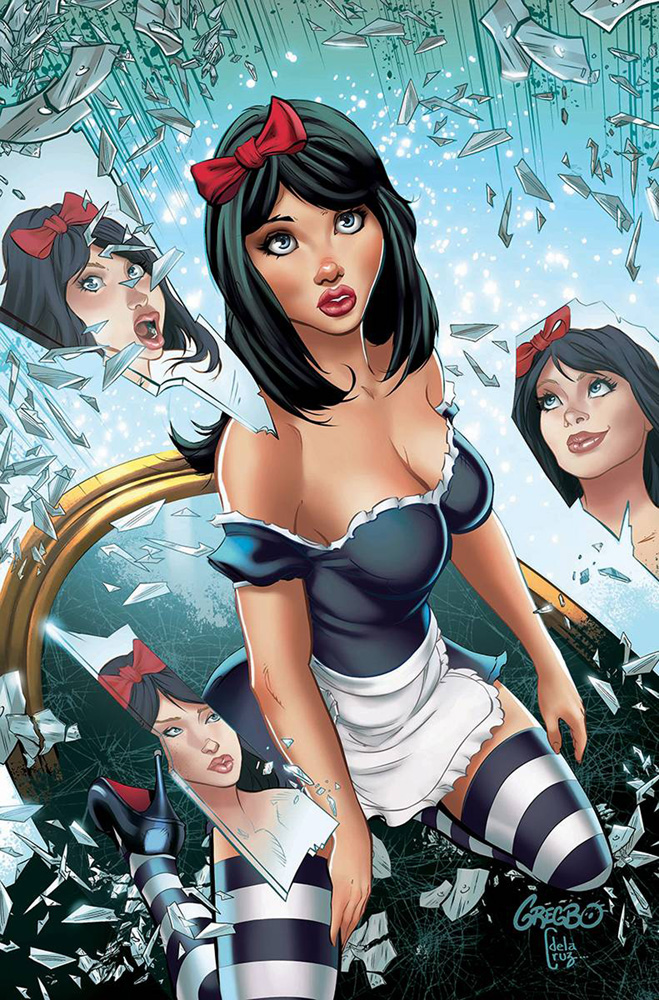 Zenescope Comic Book Cover Art on Behance